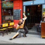 Boca sokaklarında Tango