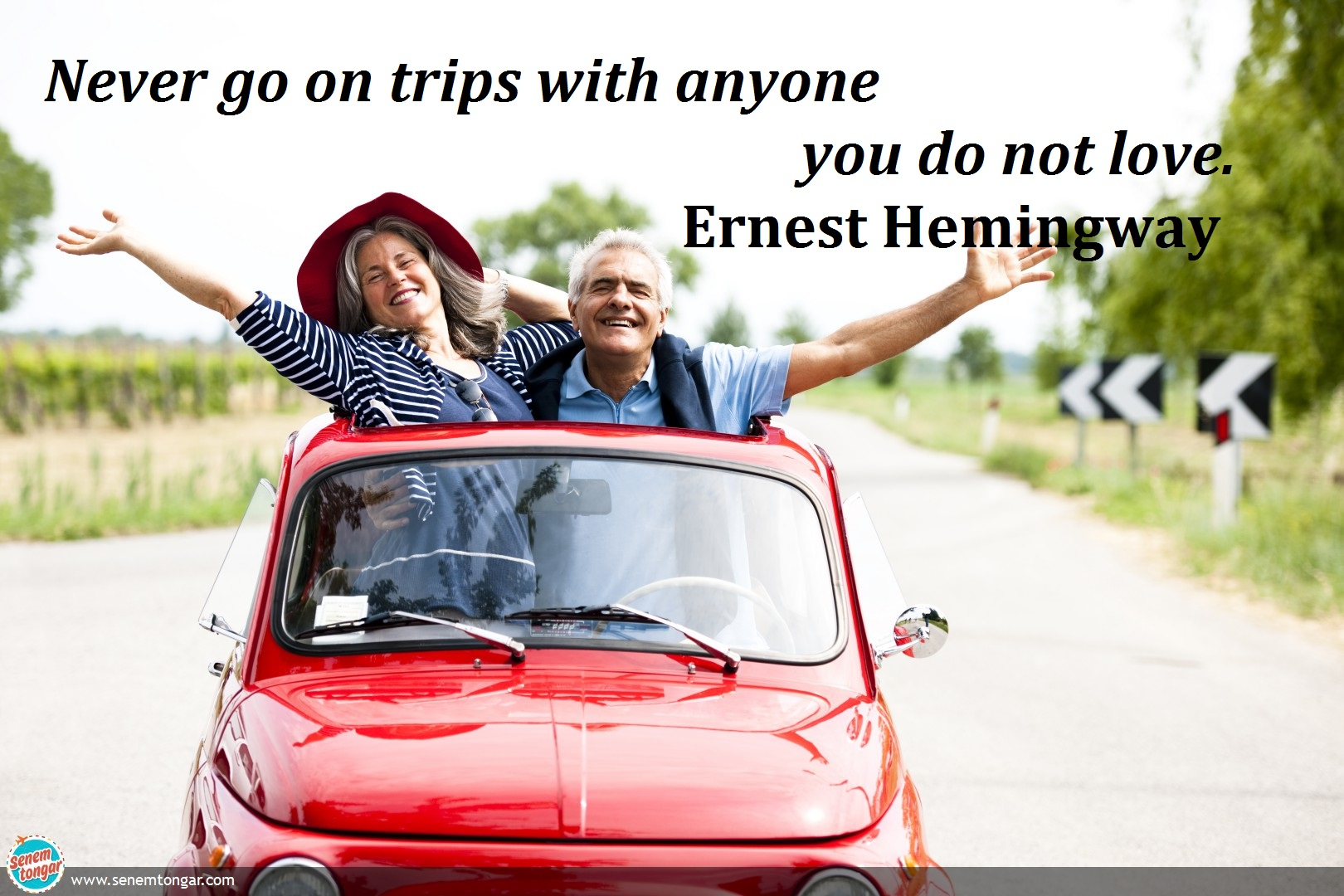 never go trips with_ernest hemingway