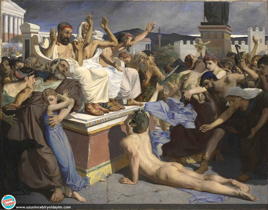 Phidippides by Luc-Olivier Merson