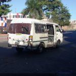 A regular minibus in Santo Domingo
