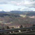 La Paz Şehrine Tepeden Bakış