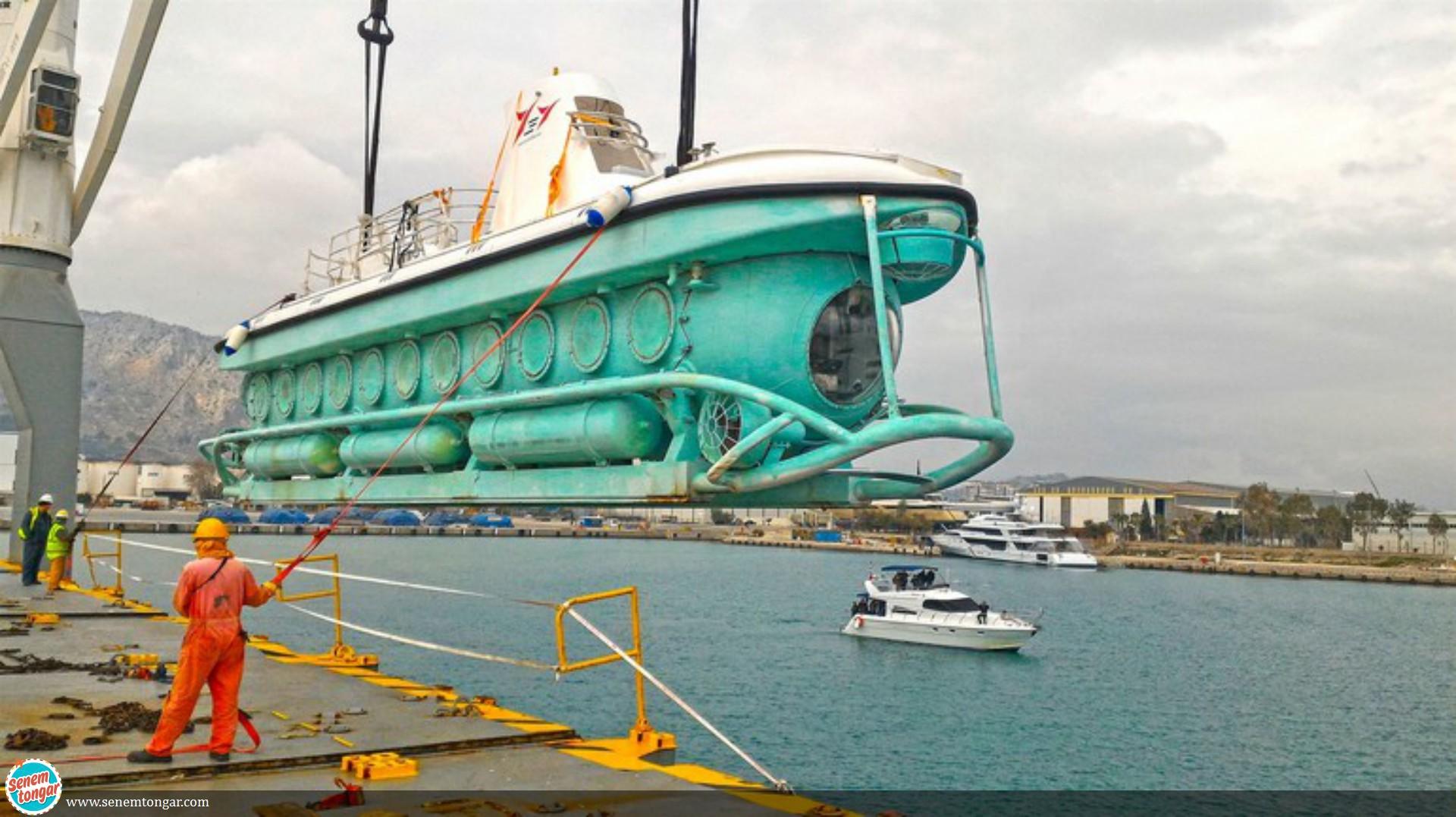 Turkiye'nin ilk Denizaltısı