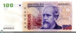 5 Arjantin Pesosu
