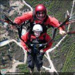 Margaret McAlpine_St.Hilarion Yamaç Paraşütü
