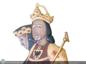 5_Habsburglu Kral Rudolf ve eşi Hohenberg'li Anna